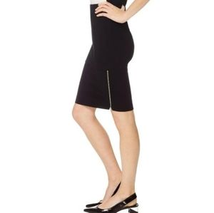 Aritzia Wilfred Champagne Pencil Skirt Size 8
